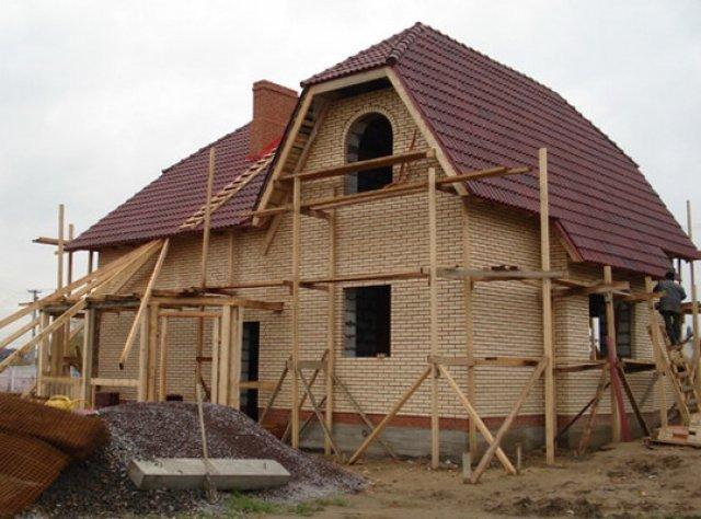 Строительство загородного дома своими руками фото