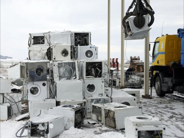 свалка бытовой техники в москве погоды